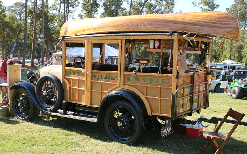 1929 Ford Woody Camper Wagon wins People's Choice Award at the 2019 Hilton Head Island Concours