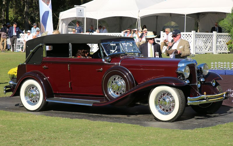 1932 Chrysler Imperial CH 5-Passenger Sedan at the 2019 Hilton Head Island Concours