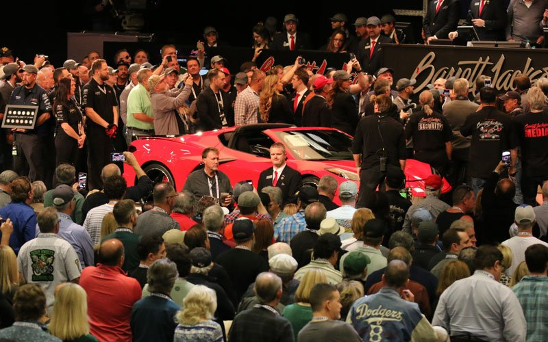 2020 Corvette sells at 2020 Barrett-Jackson Auction