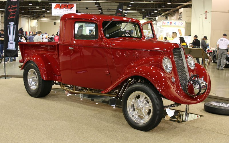 1936 Willys Pickup wins award at the 2020 Grand National Roadster Show