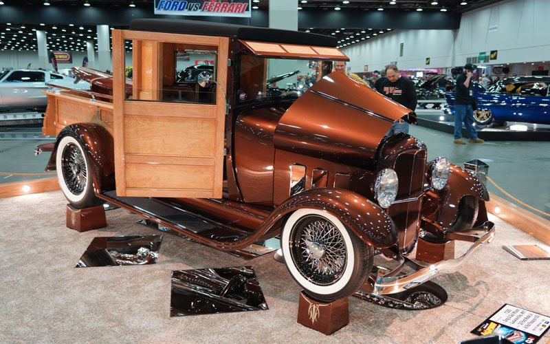 1929 Ford gets a Great 8 award