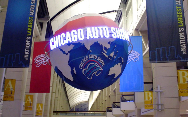2020 Chicago Auto Show Promotes New Cars