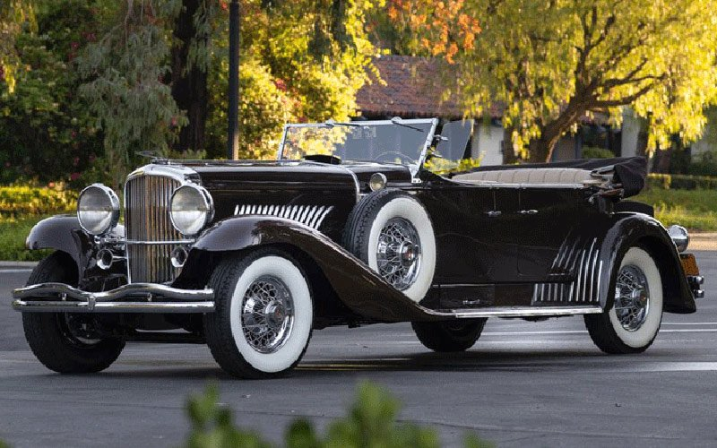 1936 Duesenberg Model J Tourster sells at the Fall Auburn Auction