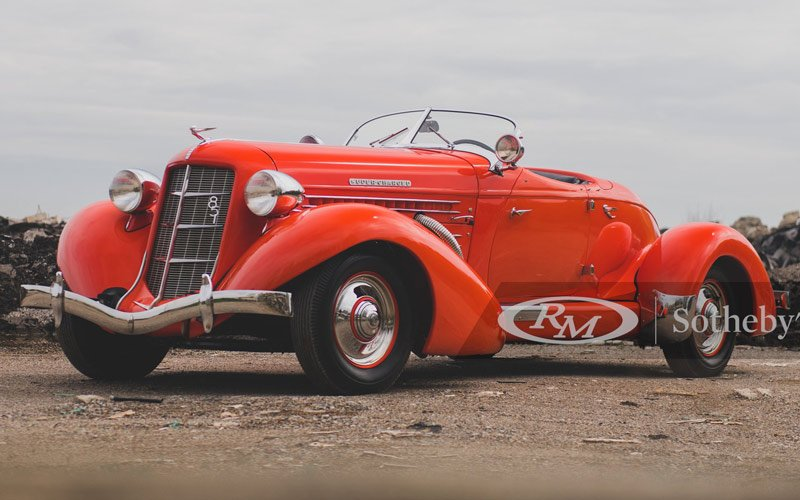 Fall Auburn Auction sells a 1935 Auburn Eight Speedster