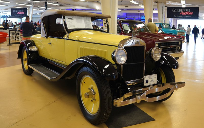 1926 Wils St Clair Roadster to be sold at the Fall Carlisle Auction 2020