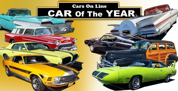Cars-On-Line Readers Pick the Car of the Year for 2020