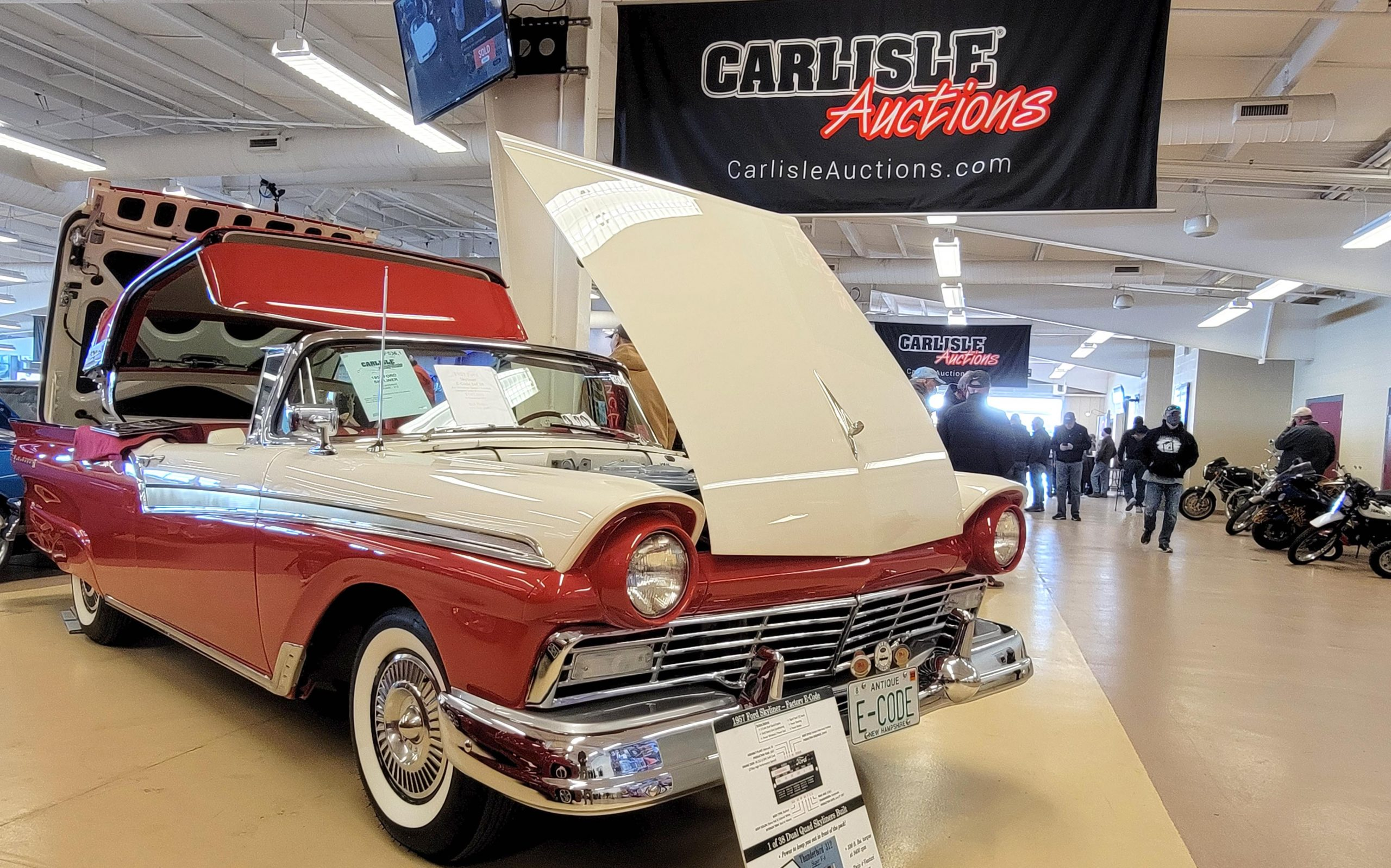 Carlisle Spring Auction features E Code Ford Skyliner