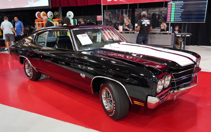 GAA Classic Auction Summer Edition, a top sale, 1970 Chevelle SS LS6 454
