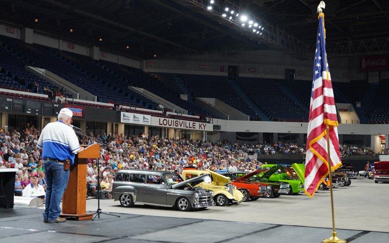 Awards Ceremony at the NSRA Street Rod Nationals 2021